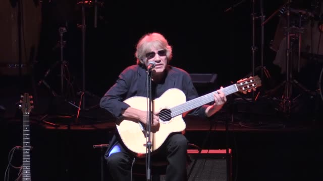 puerto rican singer composer and guitar virtuoso jose feliciano performs on stage during the 2nd annual mersin international accessible art festival... - visual impairment stock videos & royalty-free footage