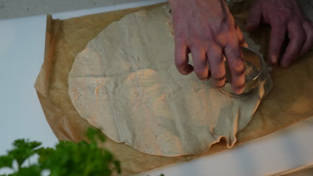 puff pastry - baking sheet stock videos & royalty-free footage