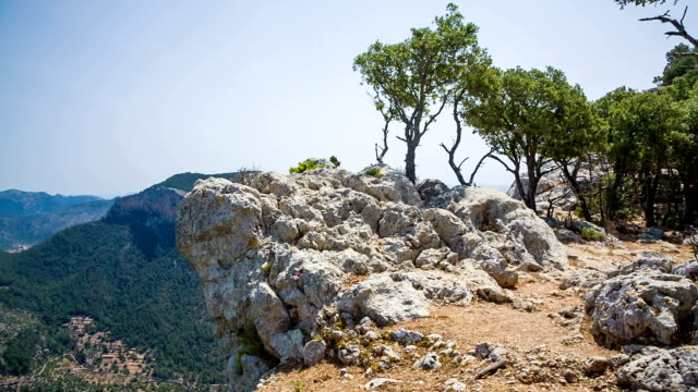 puig de alaró - majorca/spain - balearic islands stock videos and b-roll footage