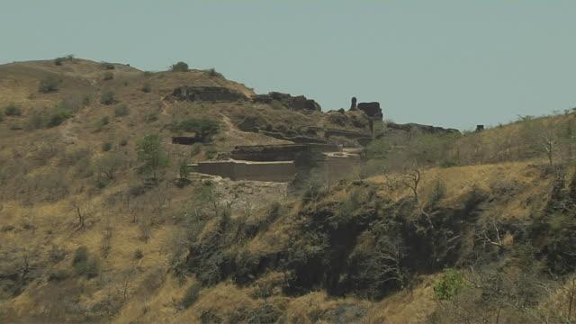 Pull back pavagadh mountain