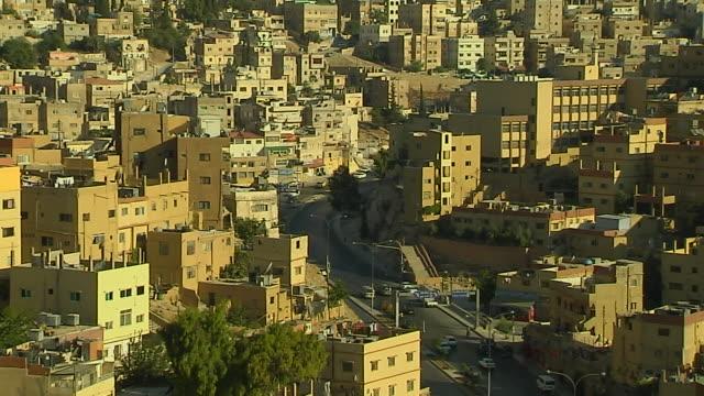 Pull Back Shot Amman Jordan