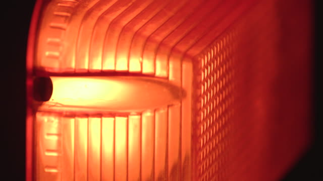 pull focus over red outdoor wall light - warning sign stock videos & royalty-free footage
