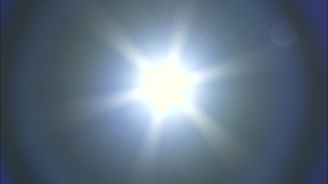 """pull focus to sun in blue sky, australia. - """"bbc natural history"""" stock videos & royalty-free footage"""