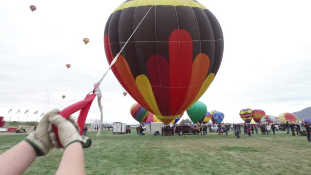 Pulling and controlling Balloon