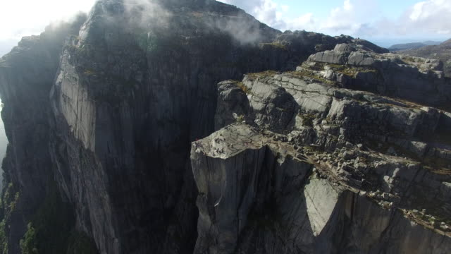 pulpit rock, norway - risk stock videos & royalty-free footage