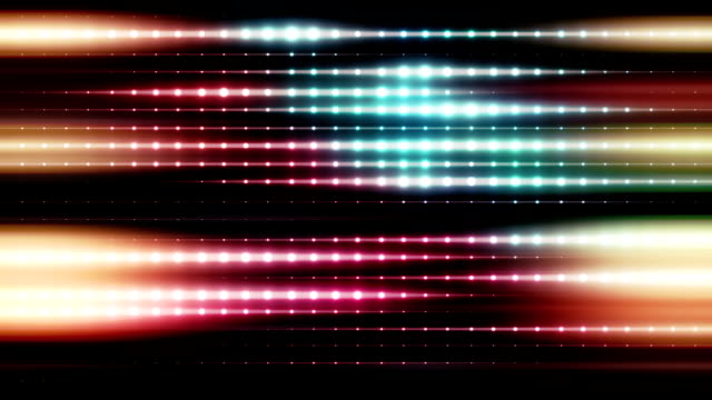 pulsating colorful lights loop - pulsating energy stock videos and b-roll footage