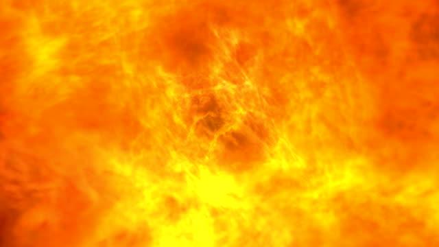 vídeos y material grabado en eventos de stock de pulsando lava de fuego como un video de superficie solar - nuclear energy