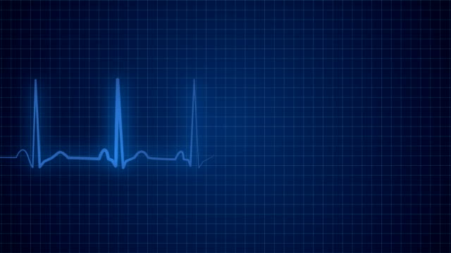 ekg pulse monitor - listening to heartbeat stock videos & royalty-free footage