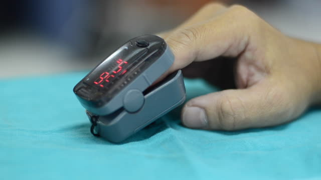 pulse oximeter - first aid kit stock videos & royalty-free footage