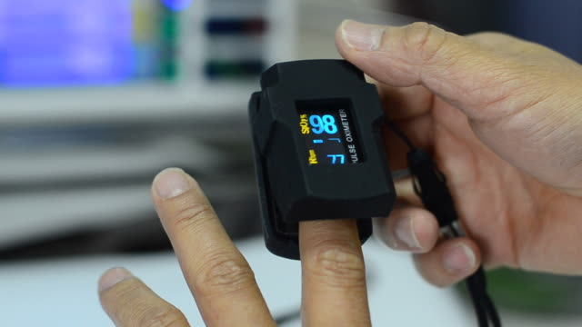 pulse oximeter - medical equipment stock videos & royalty-free footage