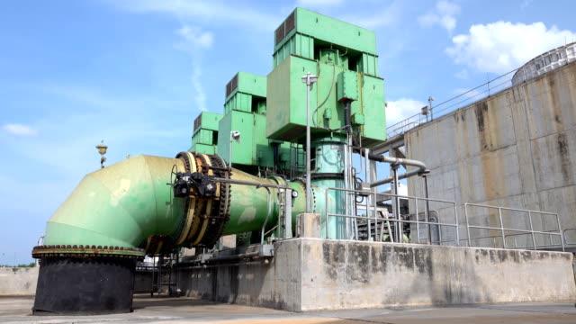 stockvideo's en b-roll-footage met pompen in elektriciteitscentrales - machinekamer