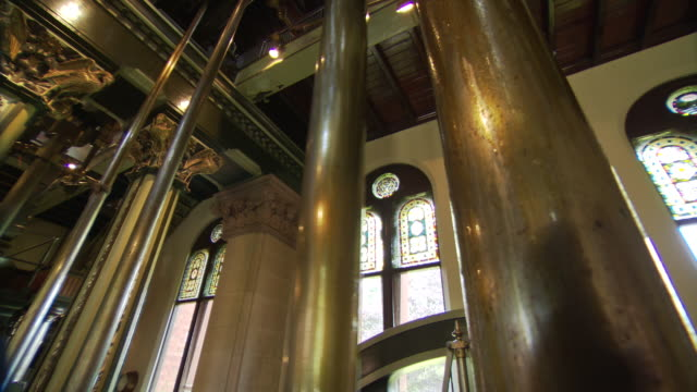 pumping system at papplewick pumping station - pumping station stock videos & royalty-free footage