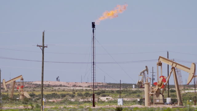pumpjacks of west texas: concept - new mexico stock videos & royalty-free footage