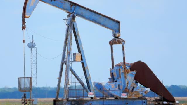 vídeos y material grabado en eventos de stock de balancines del oeste de texas - minería