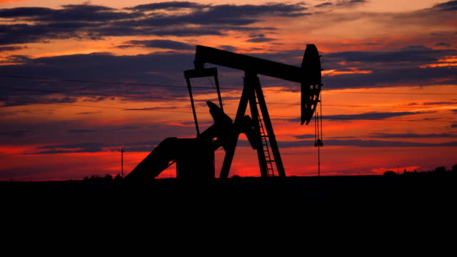 pumpjacks of west texas - texas stock videos & royalty-free footage