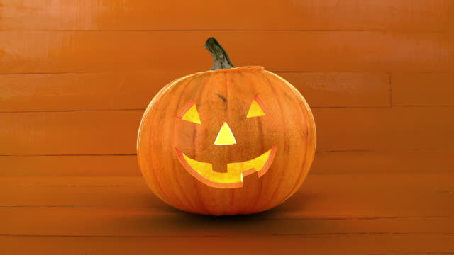 pumpkin - jack o' lantern stock videos and b-roll footage
