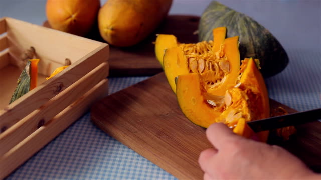 pumpkin - pumpkin stock videos & royalty-free footage