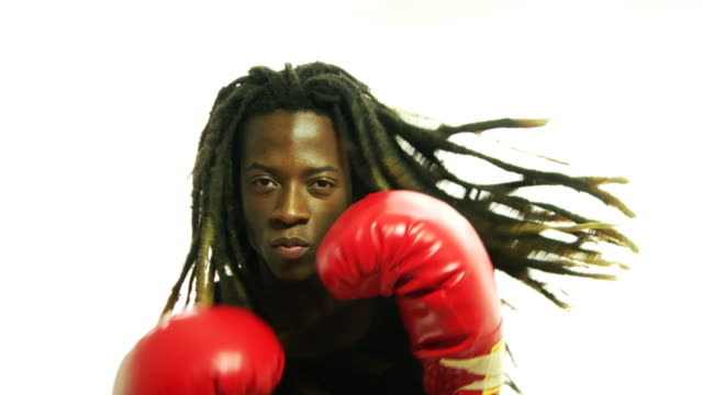 Punching Young Rasta