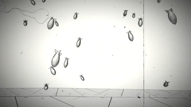 vídeos y material grabado en eventos de stock de punk rock animation - rock moderno