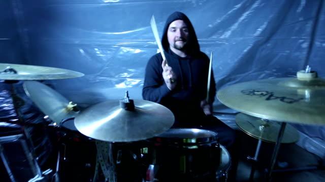 punk rock rhythm - rock group stock videos and b-roll footage