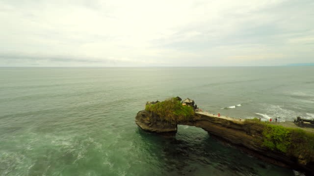 AERIAL Pura Batu Bolong Temple In Bali