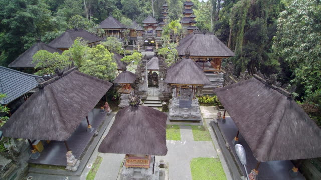 pura gunung lebah temple bali - indonesia stock-videos und b-roll-filmmaterial
