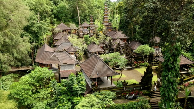 Pura Gunung Lebah Temple in Ubud Rainforest, Indonesia