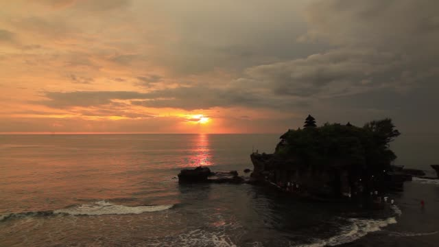 Pura Tanah Lot at sunset, Bali