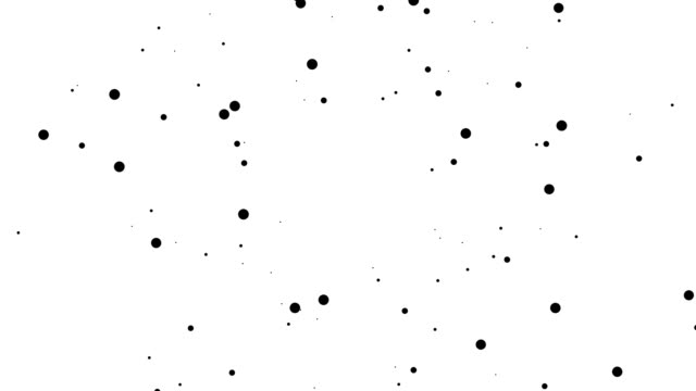 square - pure black dots: dense (transition) - spotted stock videos & royalty-free footage