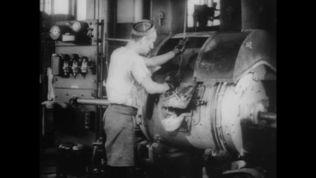 1940 pure copper tin and zinc are melted into coins - money press stock videos and b-roll footage