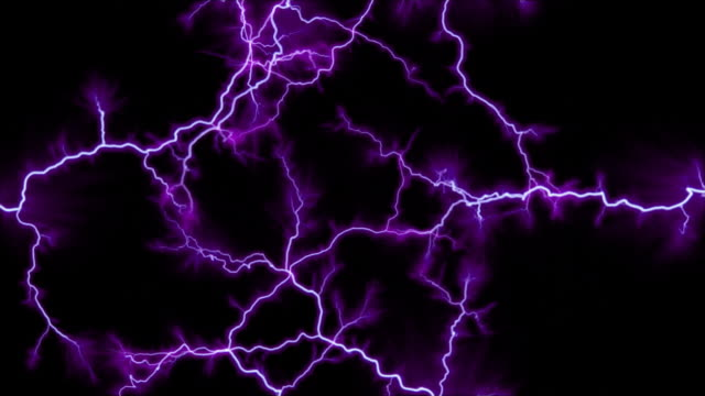 purple, branching arcs entering from every side - tesla coil stock videos and b-roll footage