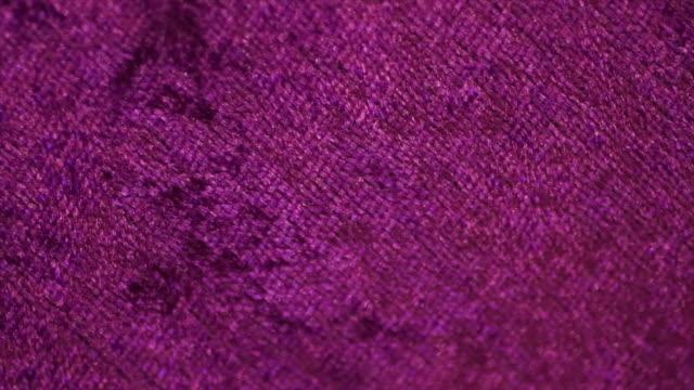 purple cloth texture - satin stock videos & royalty-free footage