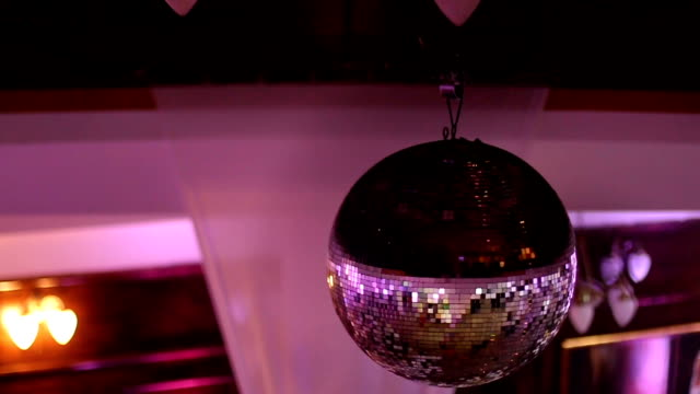 Purple Disco Ball