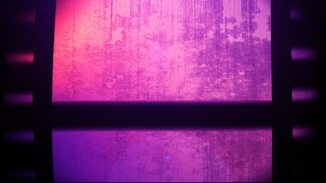Purple Film Reel Loopable