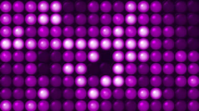 Purple Led Screen