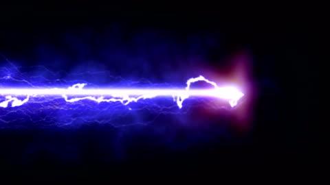 stockvideo's en b-roll-footage met paarse bliksem op een zwarte achtergrond - laser