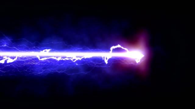 purple lightning on a black background - laser stock videos & royalty-free footage