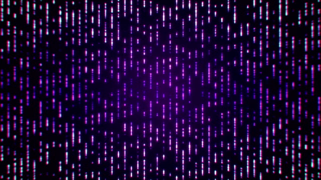 Purple Particles Abstract Background (Loopable)