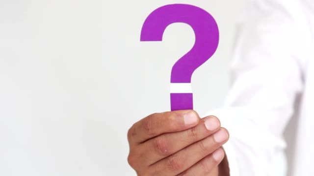 purple question mark - question mark stock videos & royalty-free footage