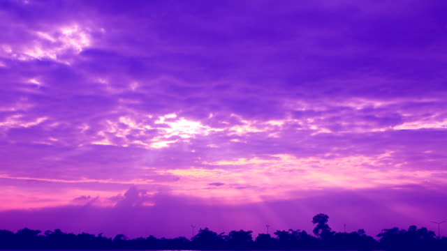 purple sky - purple stock videos & royalty-free footage
