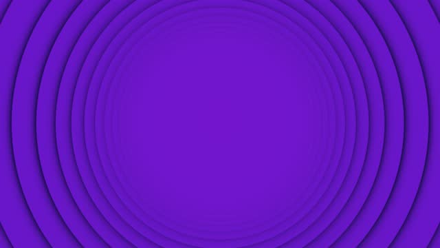 4k purple swinging ring moving circle loopable flat vivid background - image stock videos & royalty-free footage