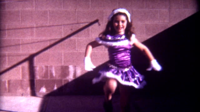 Purples Dress Dance 1960's