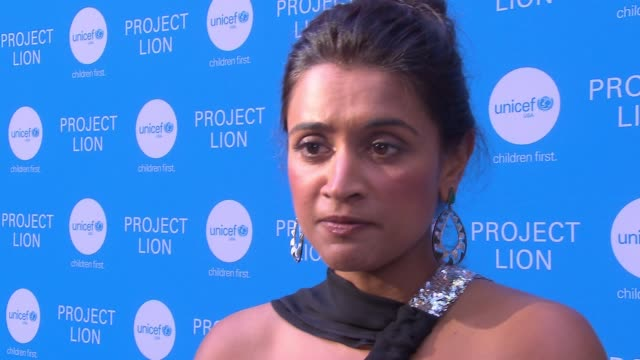 INTERVIEW Purvi Padia on this evening launching project Lion and what it entails at UNICEF Project Lion Launch 2018 at The Highline Hotel on May 30...