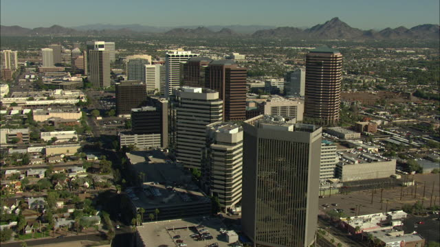 push in shot of a highway in downtown phoenix - phoenix arizona stock videos & royalty-free footage