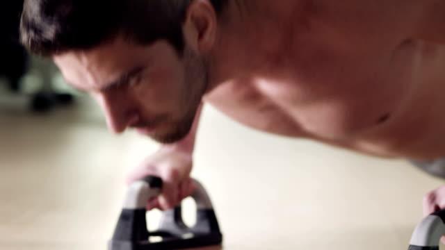 push ups - bodyweight training stock videos & royalty-free footage