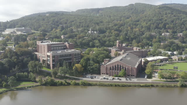 push-in shot of the united states military academy - west point new york stock videos & royalty-free footage