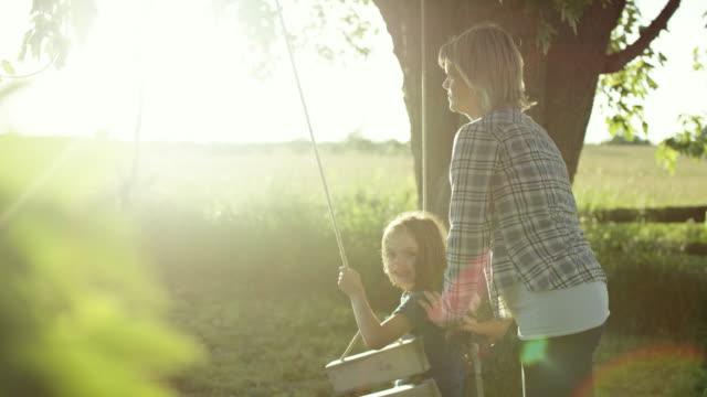 Pushing Her Daughter