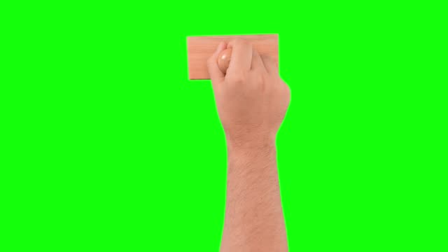 pushing large  rubber stamp on chroma key background - forbidden stock videos & royalty-free footage