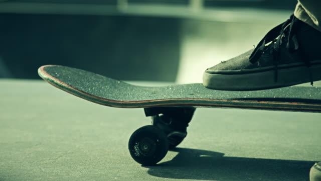 Pushing Off at Skate Park