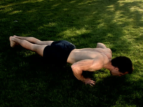 pal: pushups - bodyweight training stock videos & royalty-free footage